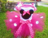 Hot Pink Minnie RESERVED for Chelsey Daugherty