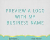 Preview A Logo With You Business Name
