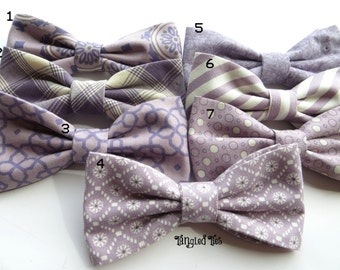 Mauve Bow Tie, Wedding Bow Tie, Mix and Match Bow Tie, Groomsmen Bow Ties