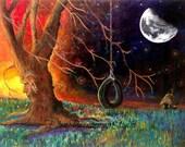 Fantasy tree fine art print by Ellen Brenneman