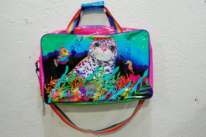 90 S Lisa Frank Clear Duffle Laptop Bag