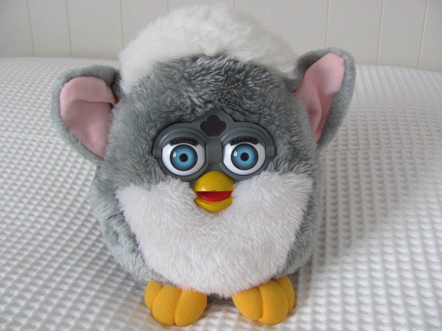 90s Original Furby Plush Large Backpack Club By