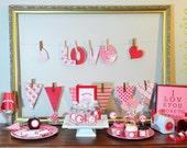 Sweet Valentine's Day Editable & Printable Kit