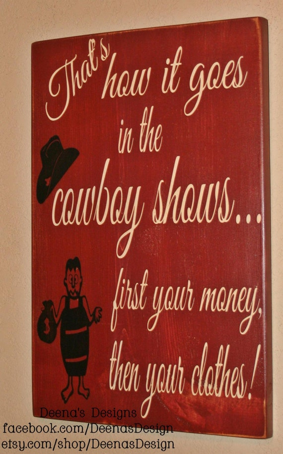 Western Wall Art western wall decor cowboy wall art cowboy saying custom