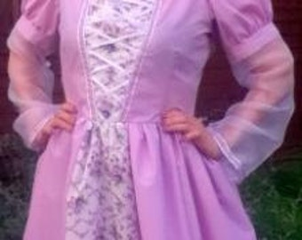 Adult Rapunzel Dress all sizes available