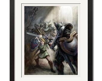 The Legend of Zelda Twilight Princess Poster Print