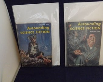 Clearance Two 1956 Astounding Science Fiction Magazine Books
