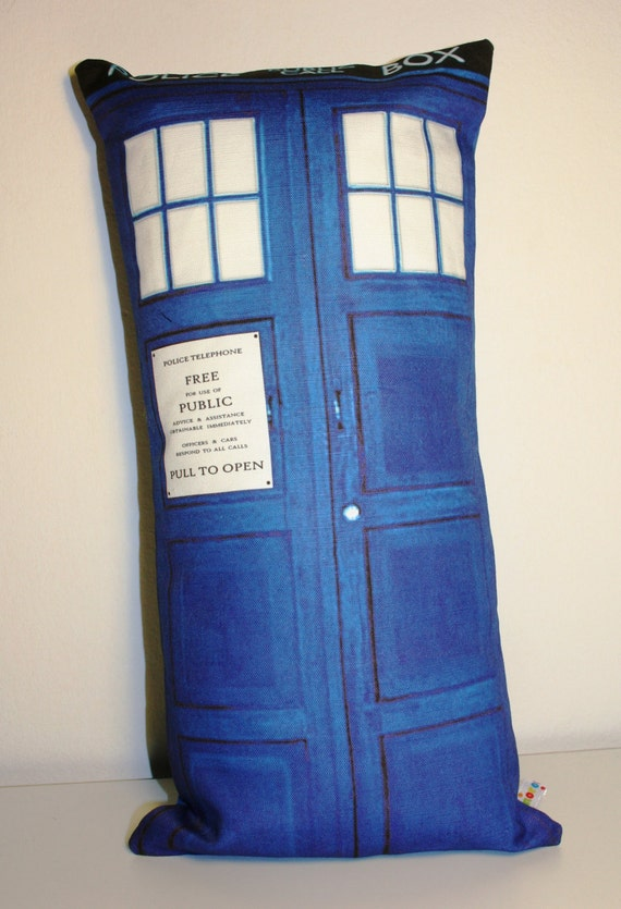 RESERVED  TARDIS Pillow Cushion cover for Charline