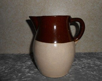 Roseville Stoneware Milk Pitcher Made by R.R.P. Co., U.S.A.