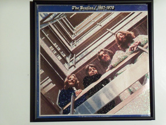 Glittered Record Album - The Beatles - 1967-1970