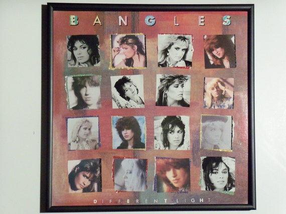 Glittered Record Album - Bangles - Different Light