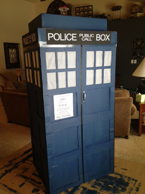Items Similar To Tardis Vinyl Lettering Police Public Call
