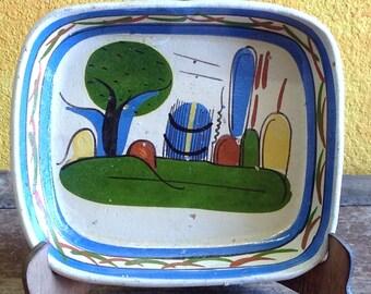 Vintage Tonala Ceramic Tray circa 1960's