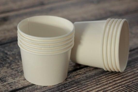 Ice Cream Template Paper Ice Cream Cups Set of