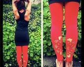 Red  Mountain Pose Leggings