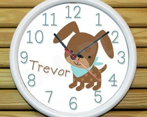 Popular Items For Dog Clock On Etsy