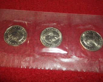 1980 Susan B Anthony Dollar Souvenir Set pds