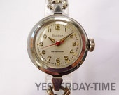 Bulova Heiress of Time Ladies Watch 1966 Swiss 17 Jewel Manual Movement Stainless Steel Case