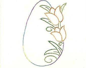 Easter flower egg 5