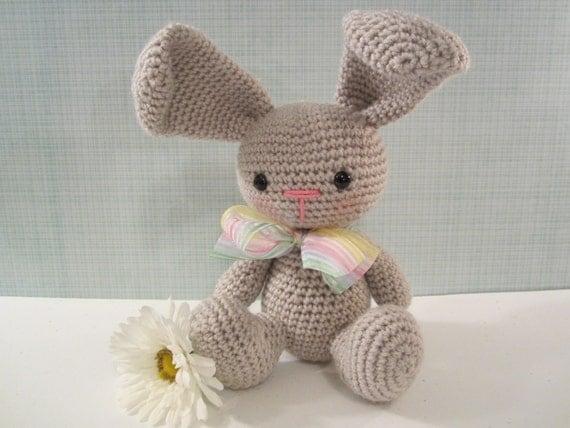 Crochet Bunny Rabbit Amigurumi Stuffed Bunny by CROriginals