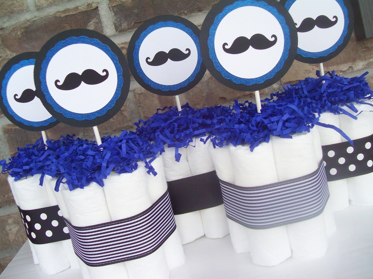baby shower decorations mustache baby shower