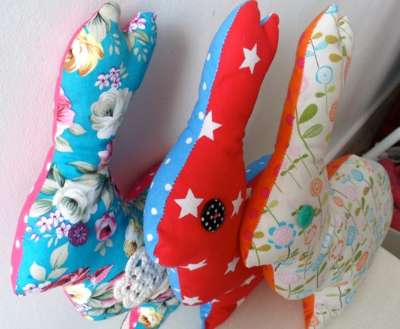 Decorative rabbit cushion/pillow