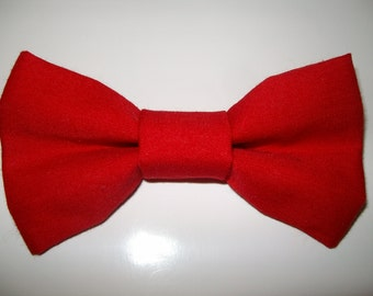 Bright Red Bow Tie for Dog, Cat