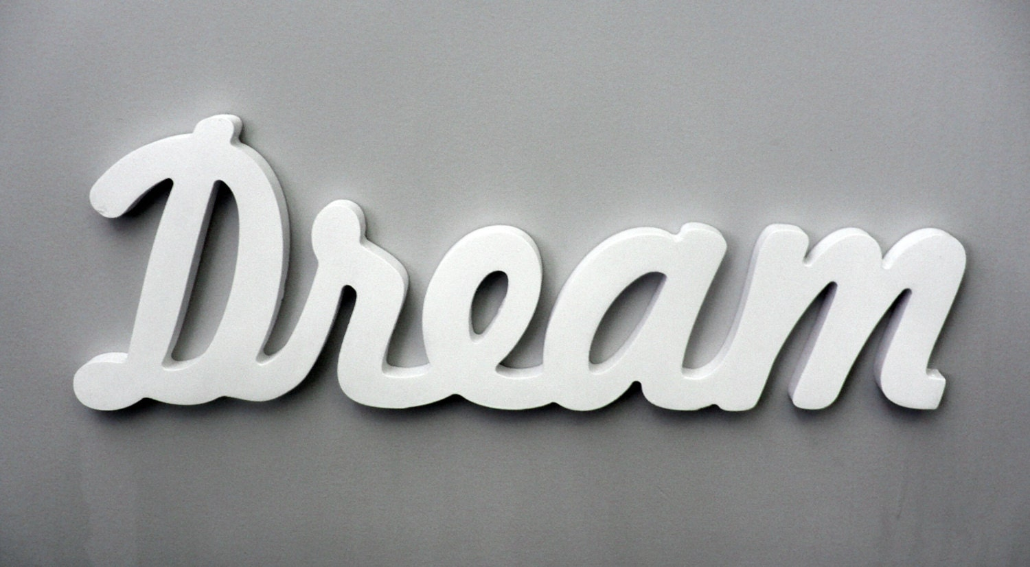 Mot en bois mur inspirational decoration murale dream for Decoration word