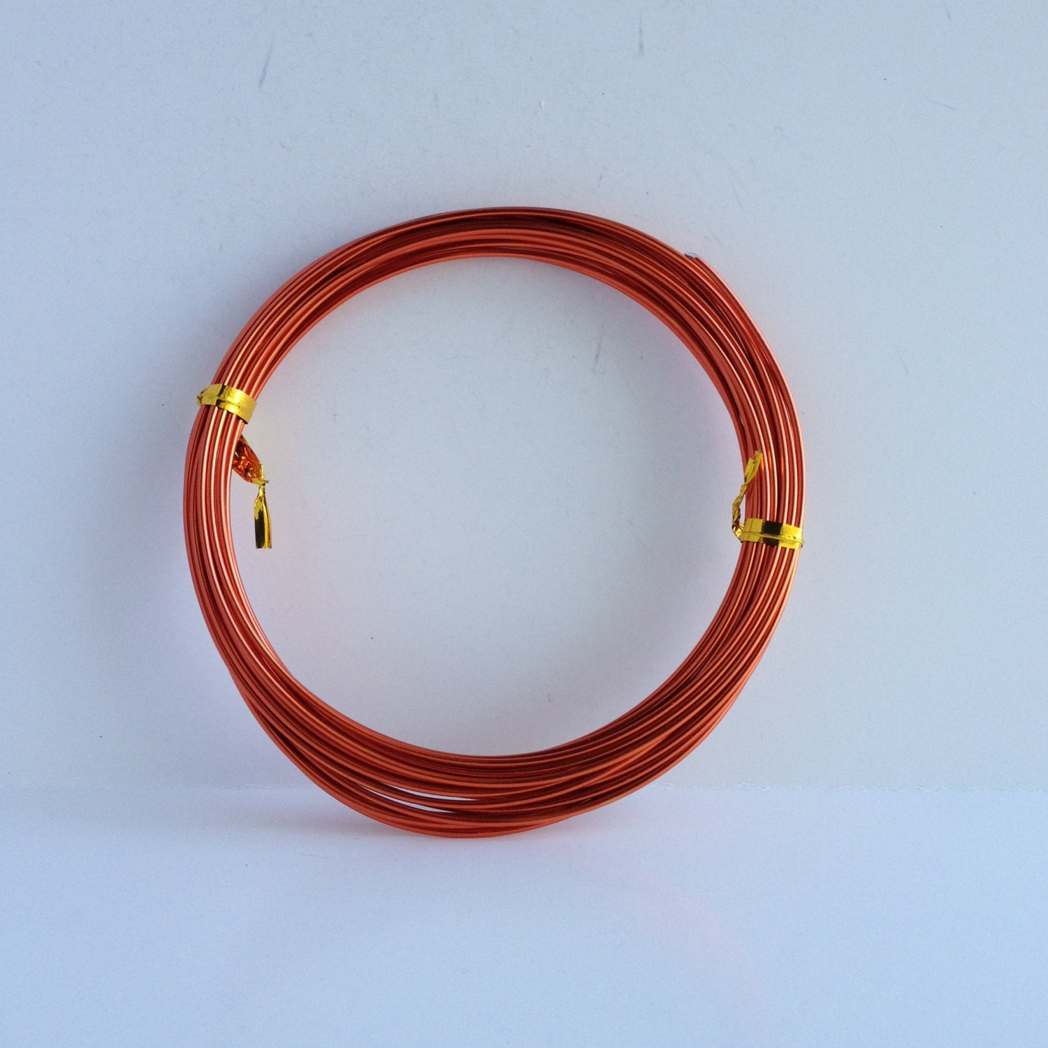 Meters To Feet Squared 14 Gauge 1 5mm Red Orange Tone Aluminum Wire From