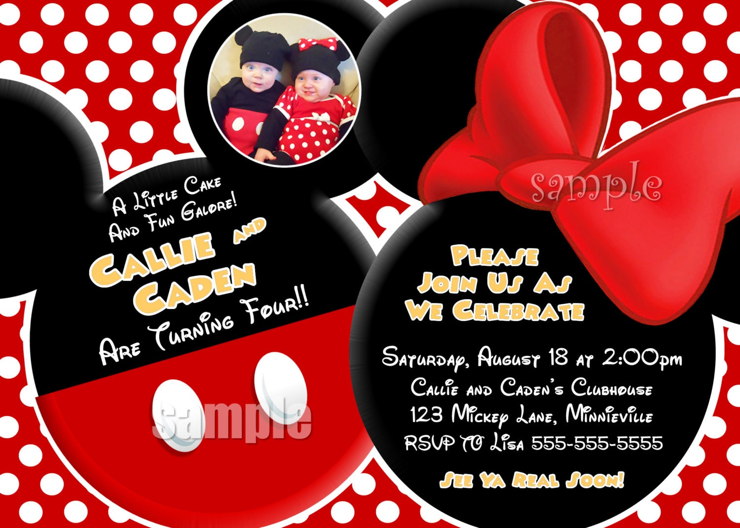 Mickey Mouse Clubhouse Invites is amazing invitations ideas