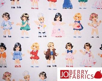 Paper Doll Cuties Fabric