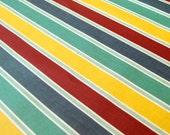 SALE Laminated Salt Air deck chairs cotton fabric 1 yard