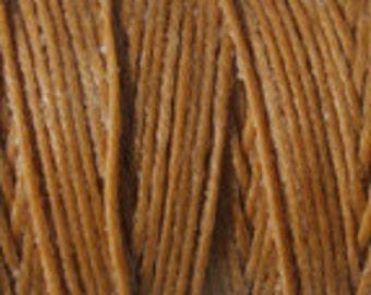 5 Yards Butterscotch 4 ply Irish Waxed Linen Thread