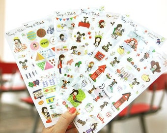 I love Little Dog Sticker - 6 Sheets