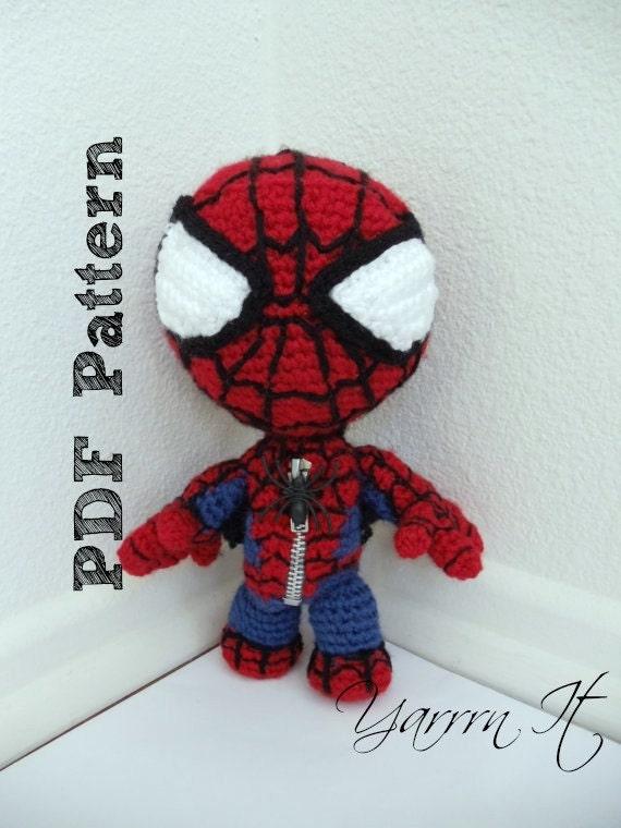 Spiderman amigurumi patron gratis - Imagui