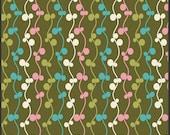 Pat Bravo Fabric 'Girly Girl' Olive Vines Art Gallery Fabrics