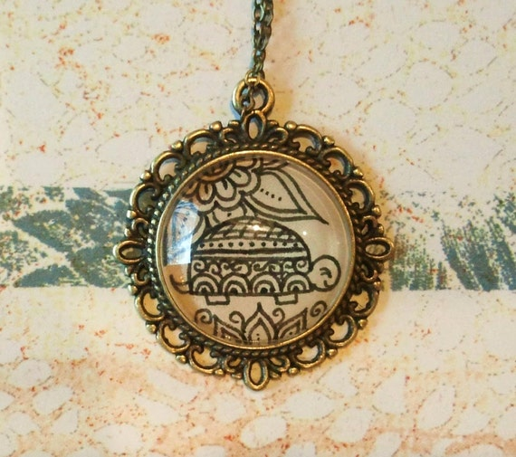 Chaco Turtle Necklace