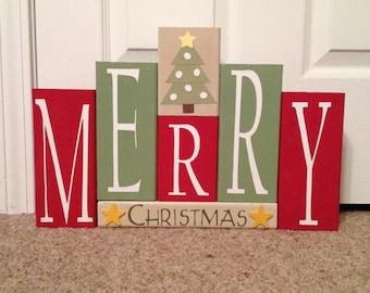 Merry Christmas Blocks Copy