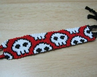 Skulls Day of the Dead Friendship Bracelet