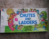 Vintage 1979 Chutes and Ladders Board Game by Milton Bradley