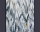 IKAT Paintings-- Chevron Paintings -- COMING SOON
