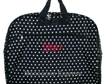 monogram grey chevron garment bags