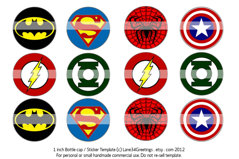 Superhero Logos Printable Wwwgalleryhipcom The