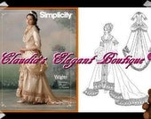 Simplicity Historical Sewing Pattern Sizes (14,16,18,20)