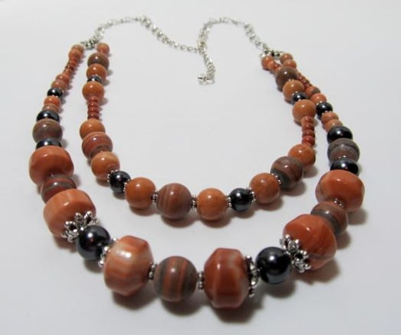 Red Malachite Stone : Red malachite gemstone handcrafted jewelry by