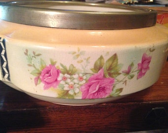 Vintage Art Deco Planter or Bowl Hanley  L and Sons LTD TFlowers Very Nice