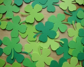 Shamrock / Clover Confetti - St. Patrick's Day - Qty: 150 Pieces