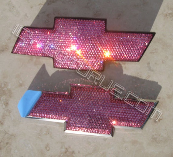 Bling Chevy Bow Tie Emblems in