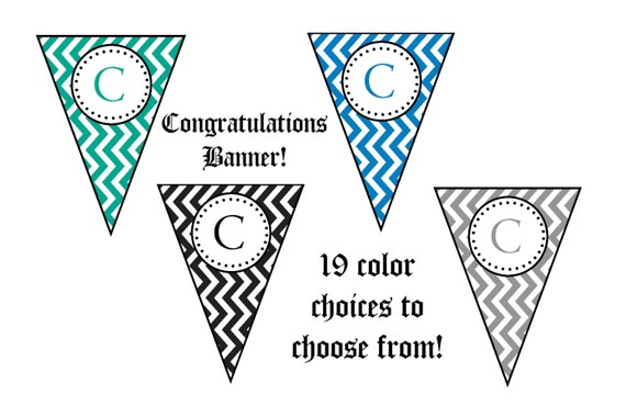 Crush image throughout congratulations banner free printable