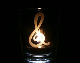 Octavia Cutie Mark - Candle Holder